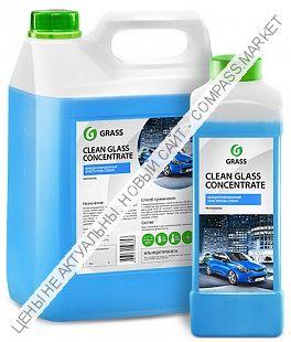 Очиститель стекол «Clean Glass Concentrate» GRASS 5кг.